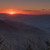Waterrock Knob Sunset