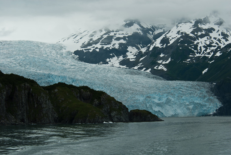Aialik Glacier - Alaska - There is no way that a photo can do justice to the splendor of the massive glaciers that we were fortunate to see while visiting Alaska for our 25th anniversary.