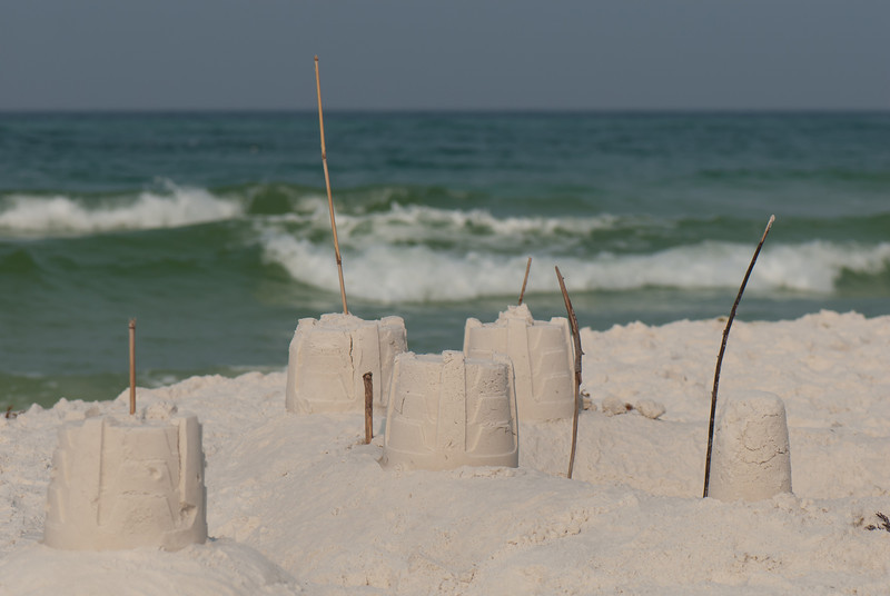 Sand Castles - Taken at Seaside (Grayton Beach) Florida