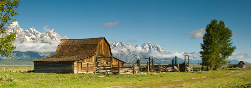 Mormon Row Barn, Grand Teton National Park