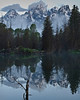 Early morning light on the Teton mountain range shot from Schwabacher's landing.