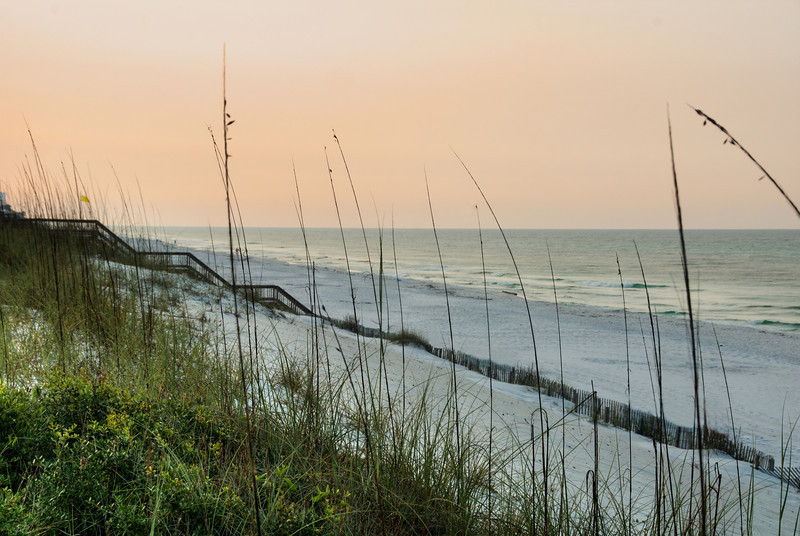 Early Morning at the Beach - Taken at Grayton Beach Florida