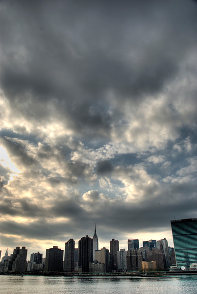 New York City skyline from Long Island City