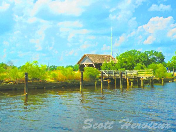 """Water's Edge"" <br /> riverfront in Wilmington, North Carolina"