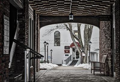 Olde Andover Village Arch