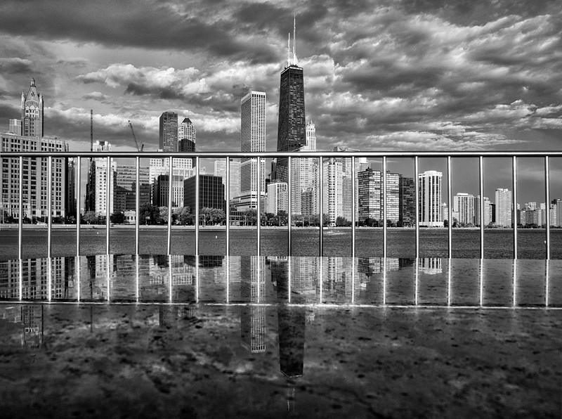 View from Olive Park - Chicago