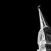 South Church Spire, B&W I