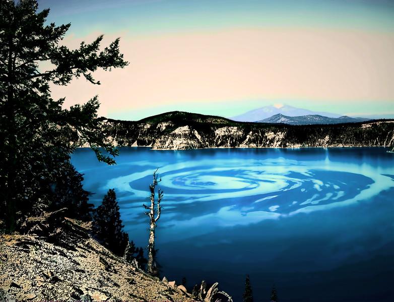 Crater Lake Swirl (4SM)