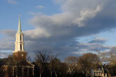 Cochran Chapel, winter afternoon