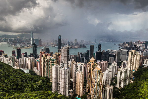 The Peak - Hong Kong.