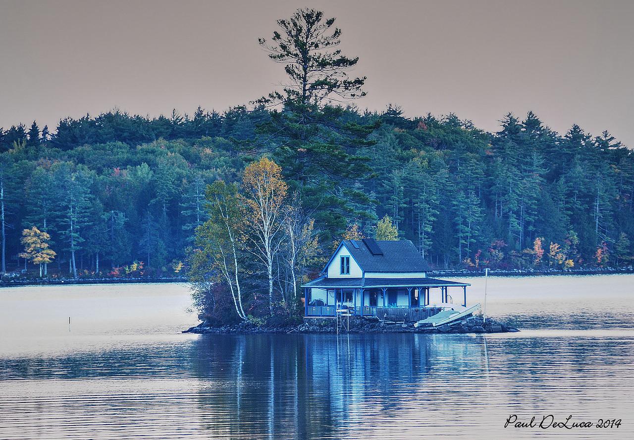 Island House on Newfound Lake