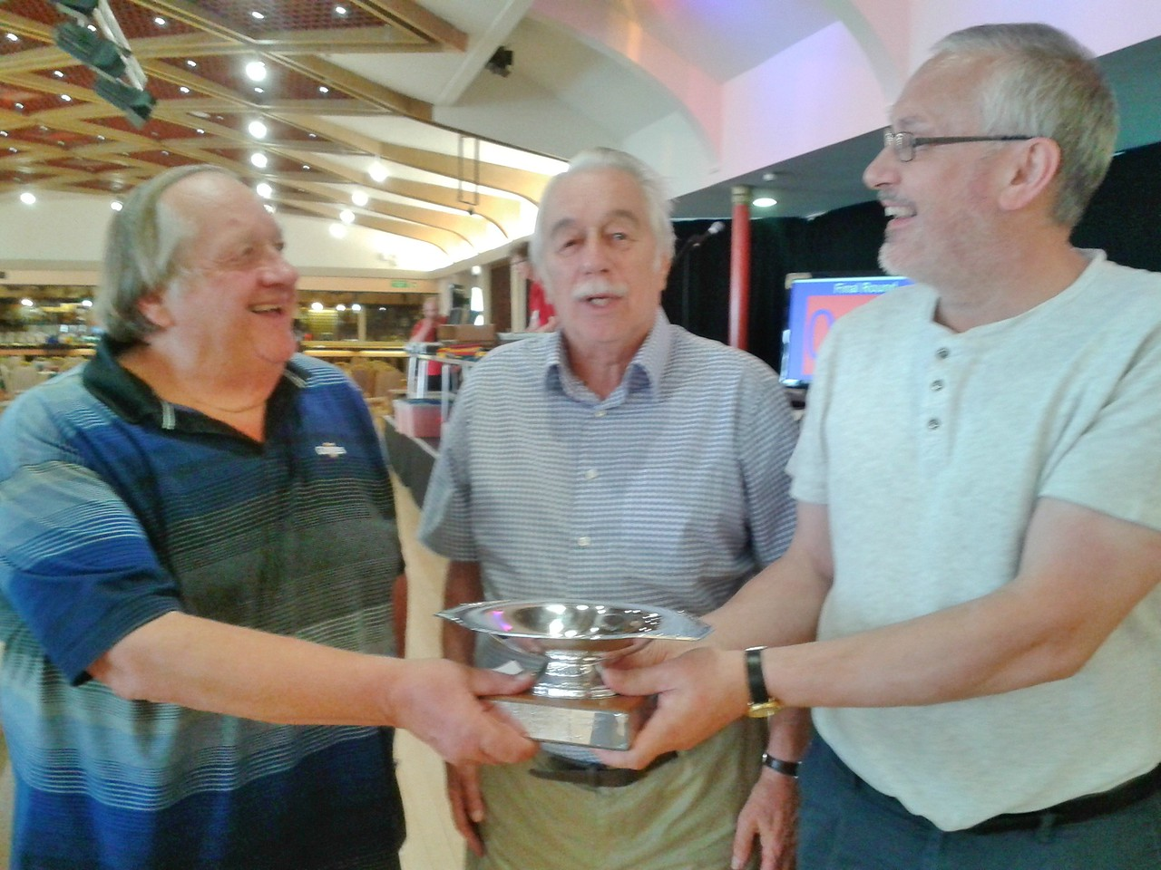 2016 Swiss Pairs winners - Ron Davis & Bill Taylor