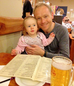 Father's Day 2013 - Scarlett Took Daddy to his Favourite Japanese Restaurant for Dinner; Kintaro Neutral Bay