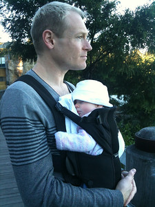 Daddy and Scarlett at Taronga Zoo. 23rd June 2012 - Scarlett 4 Months Old