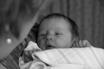 Baby Scarlett in Nannas Robyn's Arms