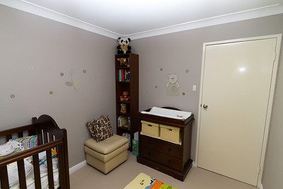 Baby Winton's New Room, January 2012