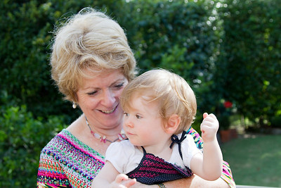 Scarlett and Nanna - First Birthday Party (24th February 2013)