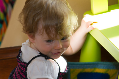 Scarlett Playing - First Birthday Party (24th February 2013)