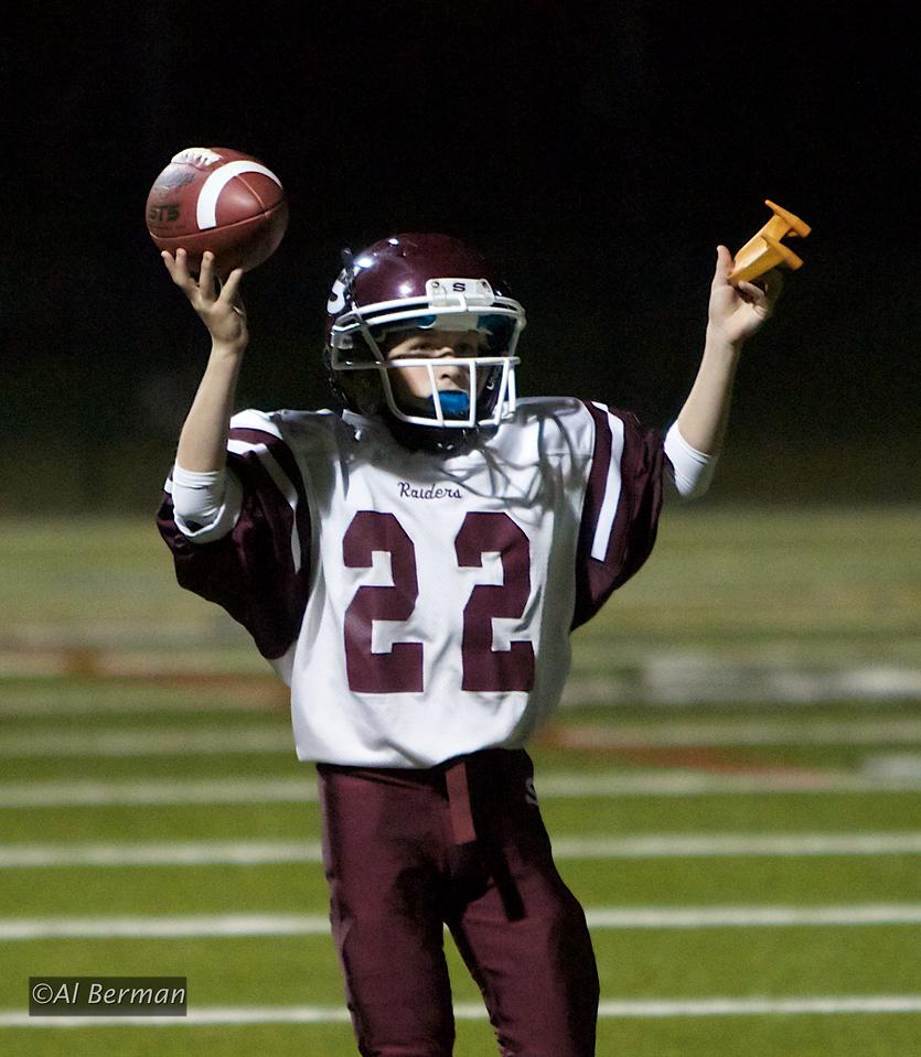Scarsdale High School JV football vs Mamaroneck High School