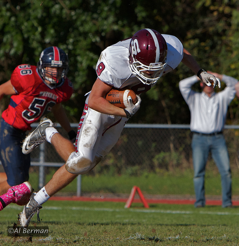 scarsdale defeats ketcham, eric berman, brandon berman, high school football,show