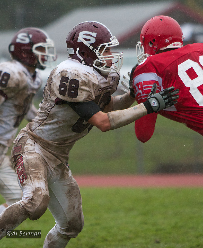 Scarsdale High School Varsity Raiders vs North Rockland in Section One playoff game