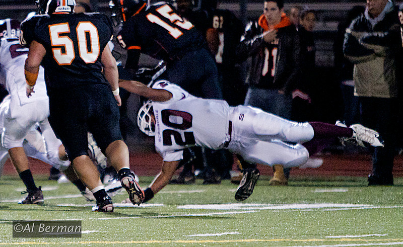 Scarsdale High School Varsity football vs White Plains in DeMatteo Bowl 2011