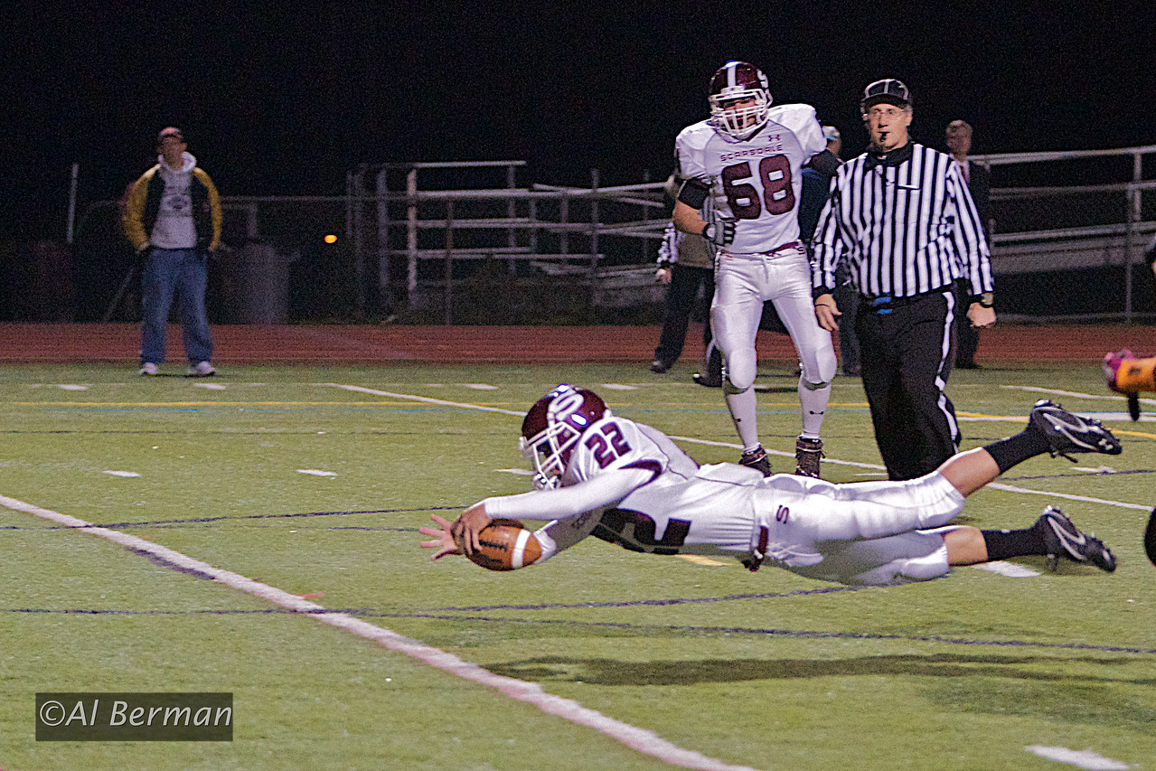 Scarsdale High School Varsity football vs White Plains in DeMatteo Bowl 2011.