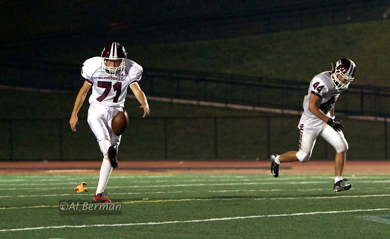 Scarsdale High School Varsity football vs Suffern 10/5/12