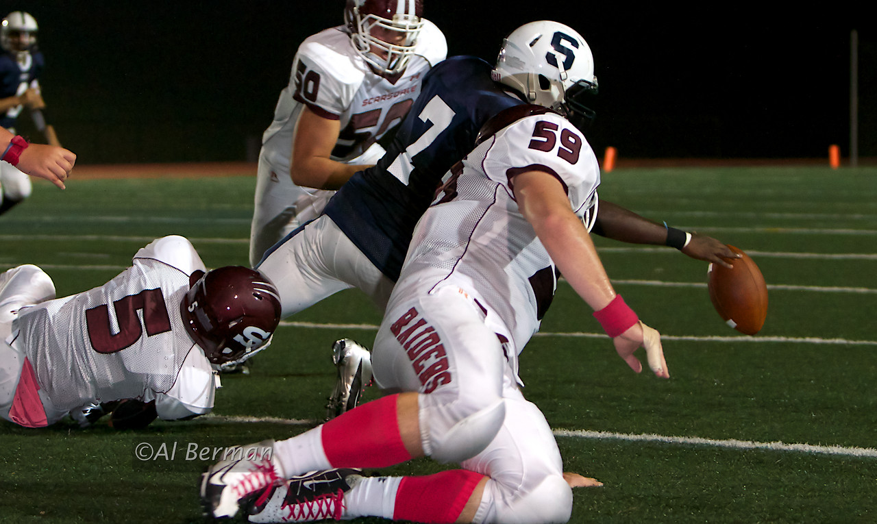 Scarsdale forces fumble