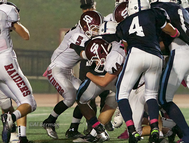 Scarsdale High School Varsity football vs Suffern 10/5/12
