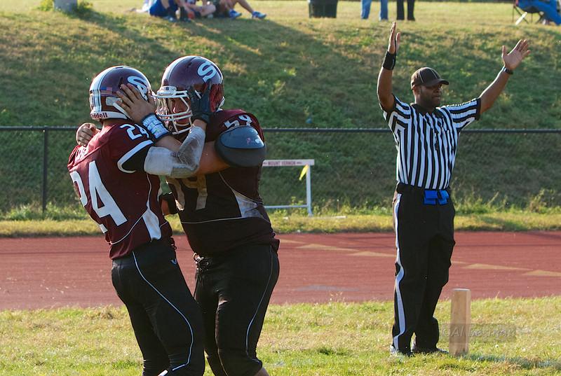 Scarsdale High School beats Mt. Vernon 10/5/13, show