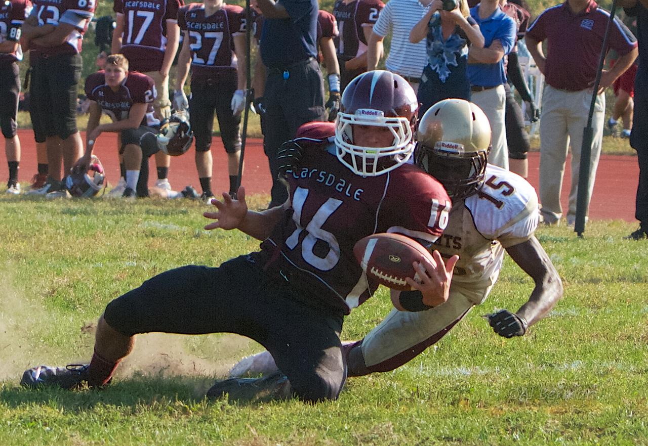 Scarsdale High School beats Mt. Vernon 10/5/13