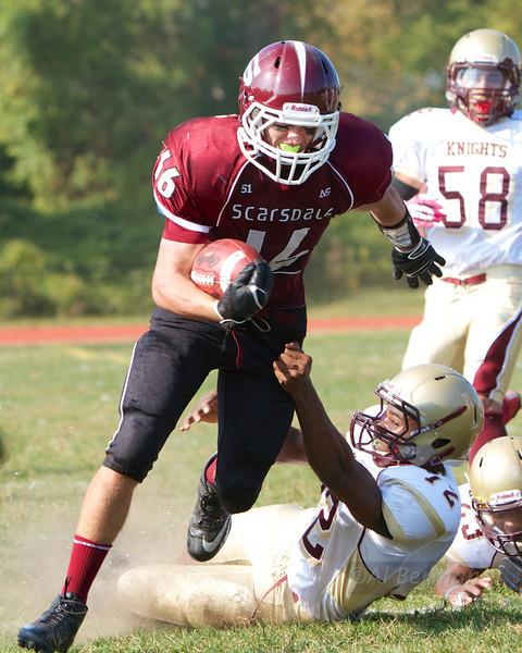 Scarsdale High School beats Mt. Vernon 10/5/13