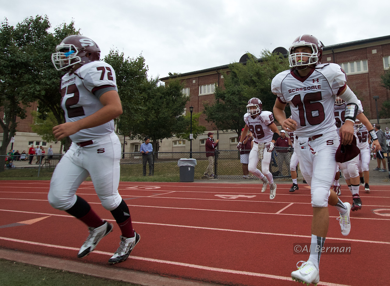 Scarsdale defeats N. Rockland 28-13 at home on 9/13/14