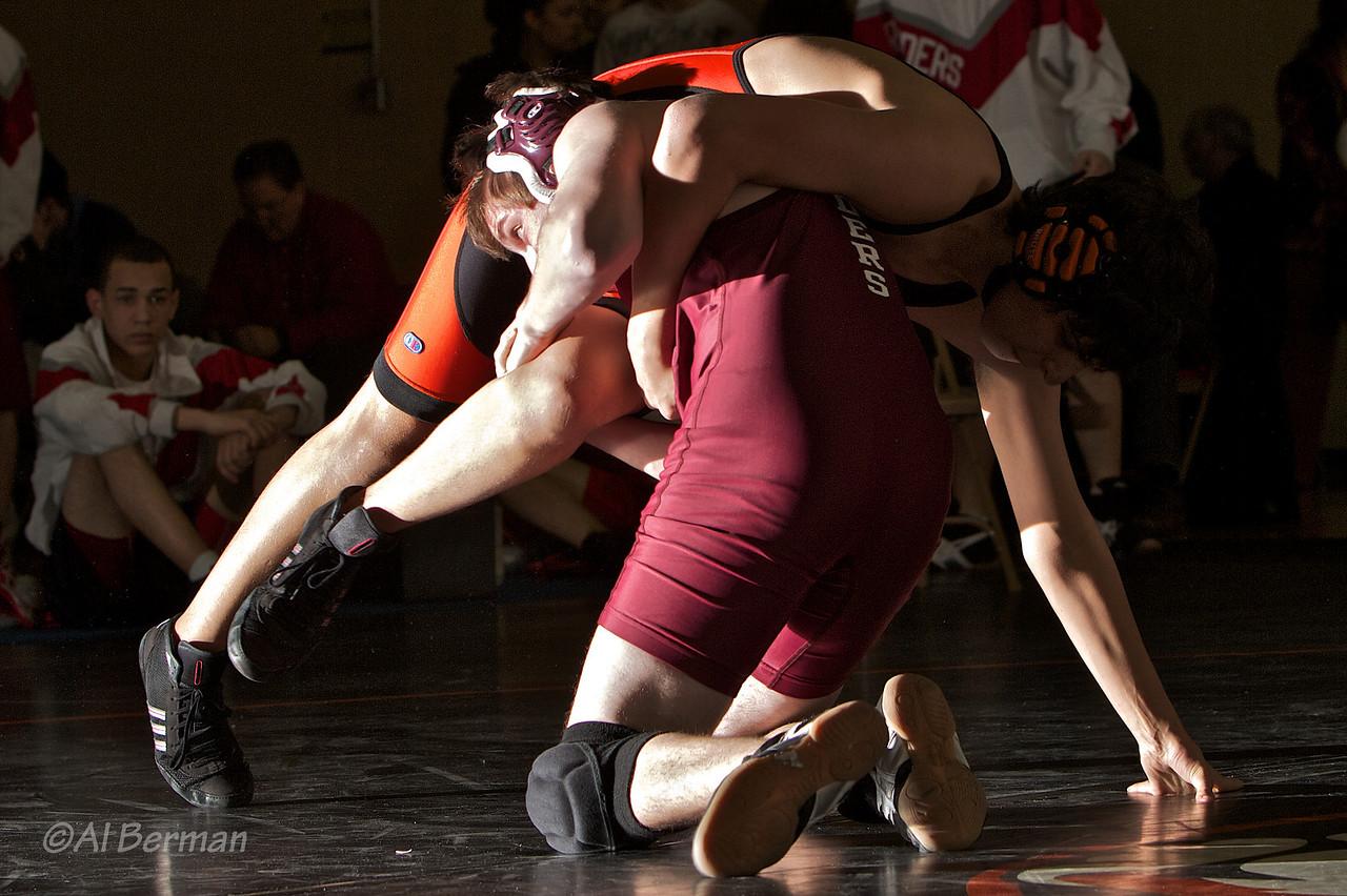 JV wrestling tournament at White Plains High School