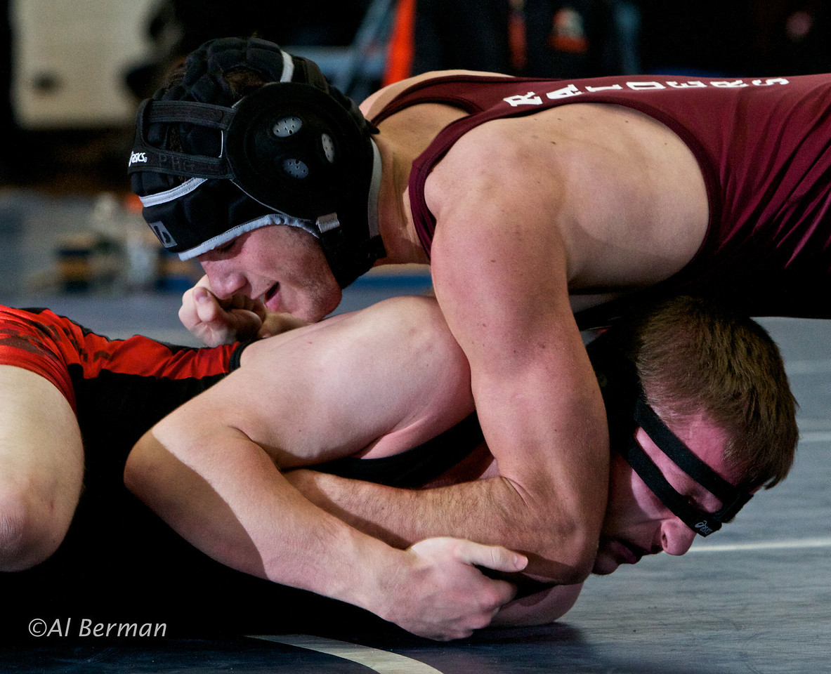Scarsdale High School wrestling in Edgemont tournament