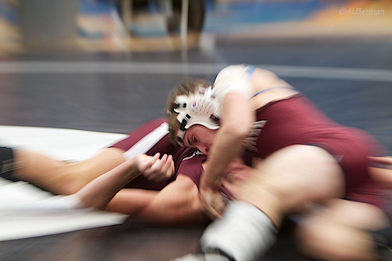 Scarsdale High School wrestlers at Edgemont tournament 1/23/11