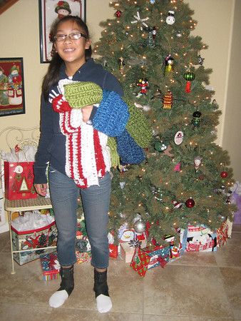 Paige's Scarves For Friends December 2012