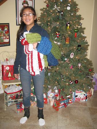 Paige's Scarves For Friends December 2012