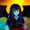 Spooky Girl on Halloween.