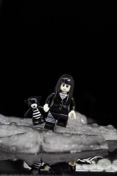Spooky girl and Ice bear.