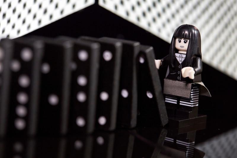 dominoes..