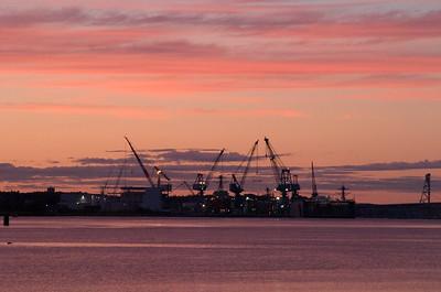 BIW Sunset