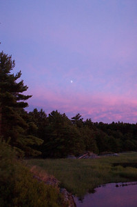 Moonrise over Miller's Cove