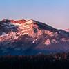 Sierran Glow Panorama