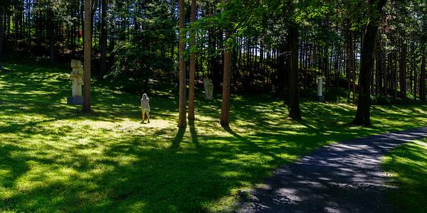 Rachel Amidst The Trees