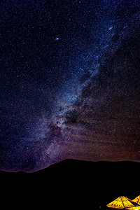 Milky Way Over the Sahara