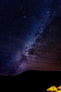 Milky Way Over the Sahara