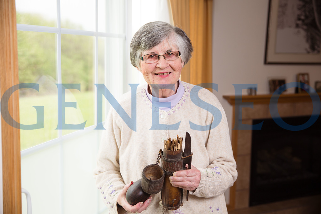 Emerita professor Jane Hogan peace corps story portrait Photo by Keith Walters Spring 2017