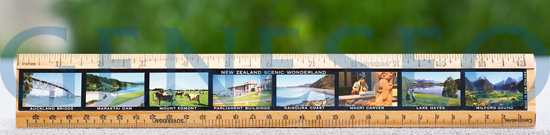 Wooden Ruler New Zealand Heather Taylor